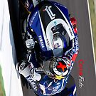 Lorenzo in Mugello iPhone case by corsefoto