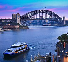 Sydney Harbour Sunrise by Jill Fisher