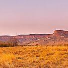 Cockburn Range Sunset Panorama by aabzimaging