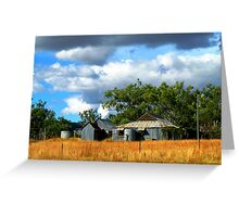 Home of Corrugated Iron - Country New South Wales Greeting Card