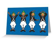 Oompa Loompa YMCA Greeting Card
