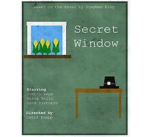 Secret Window Minimal Photographic Print