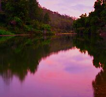 Mary River Sunset by Kate Wall
