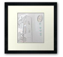 a special corner ………………………………… Framed Print