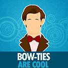 Bow Ties Are Cool iPhone Case by Tom Trager