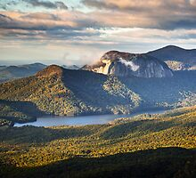 Table Rock Sunrise - Caesar's Head State Park Landscape by Dave Allen