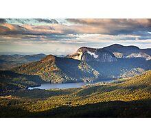Table Rock Sunrise - Caesar's Head State Park Landscape Photographic Print