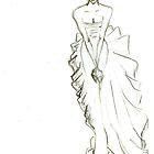Fashion Sketch Female 9 by AnArtfulLife