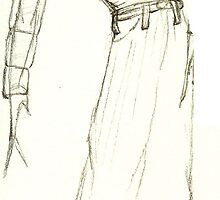 Fashion Sketch Male 4 by AnArtfulLife