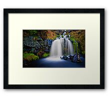 Camspie's Fairy falls Framed Print