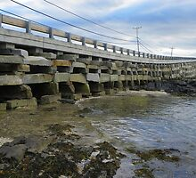 Cribstone Bridge - Harpswell, Maine by MaryinMaine