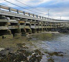 Cribstone Bridge - Harpswell, Maine by MaryinMaine