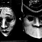Venetian masks by Wintermute69