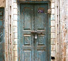 Varanasi Door 11 by elusiveradiance