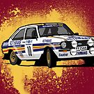 'Rothmans' Ford Escort Mark 2 BDA Cosworth by Twain Forsythe