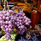 Grapes at the fruit shop by bubblehex08