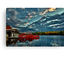 Waban Lake, Massachusetts  Canvas Print
