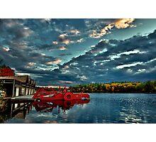 Waban Lake, Massachusetts  Photographic Print