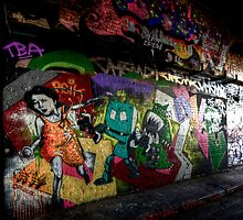Leake Street by Roddy Atkinson