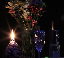 Candle Basket Chocolate by FrankSchmidt