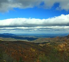 Laurel Knob Overlook by Forrest Tainio