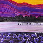 Jacaranda Sunrise by Georgie Sharp