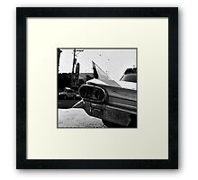 Fin Framed Print