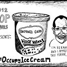 Herman Cain is Black Walnut cartoon by bubbleicious
