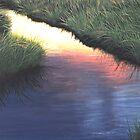 Sunset Marsh Series by Cindy Longhini