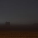 Foggy Night at the Farm by Lisa Holmgreen