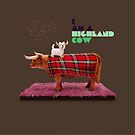 Animal Art - Highland Cow by Michael Murray