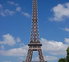 Eiffel Tower from the Champ de Mars (Aug 2008) by Rob  Holcomb