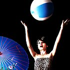 Beach Ball Night Fall by Kristy Evans