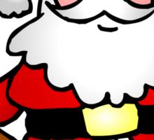 Santa Claus waving Sticker