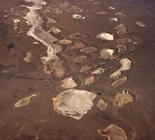 New Mexico Salt Lakes by Kasia-D