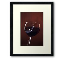 Red Wine, Time to Dine Framed Print