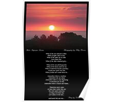 ~ Let's watch the sun rise ~ A collaboration with Polly Brown Poster