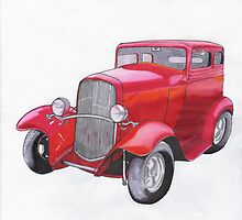 Vintage car by Sue Brown