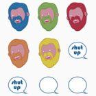 Shut Up Hank by Dominic Sohor
