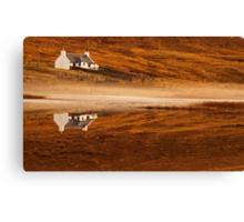Mirror Image, Applecross Canvas Print