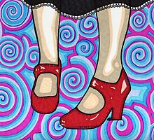The Red Shoes by Angelique Moselle Price