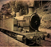 Vintage Train by Jenny1611