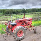 Vintage Tractor by John-Paul Fillion
