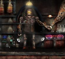 Mad Scientist - The Enforcer by Mike  Savad