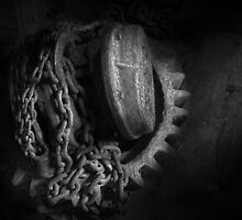 Steampunk - Gear - Hoist and chain by Mike  Savad