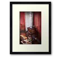 Music - Record - Granny is going to dance later  Framed Print