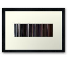 Moviebarcode: The Thing (1982) Framed Print
