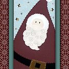 Santa #1 by Lynn Evenson