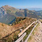ridge - monte baldo by mortonboy
