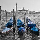 gondolas - venice by mortonboy
